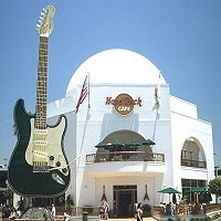 Hard Rock Cafe Hollywood 1996